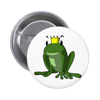 Frog Prince 6 Cm Round Badge