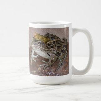 Frog Prince Basic White Mug