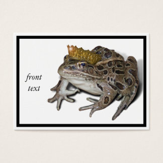 Frog Prince Business Card