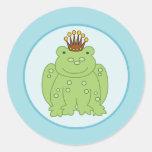 Frog Prince Envelope Seals / Toppers 20