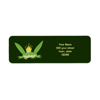 Frog Prince Funny Cartoon Cute Charming Green Chic