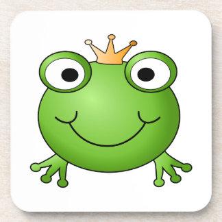 Frog Prince. Happy Frog. Coaster