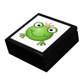 Frog Prince. Happy Frog. Gift Box