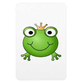 Frog Prince. Happy Frog. Magnet
