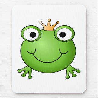Frog Prince. Happy Frog. Mouse Mat