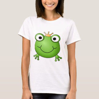 Frog Prince. Happy Frog. T-Shirt