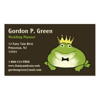 Frog Prince - Humorous Customizable Business Card