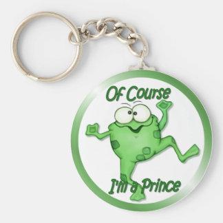 Frog Prince Key Chain
