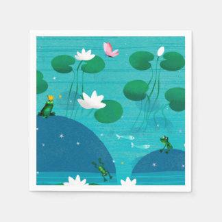 Frog Prince Paper Napkins