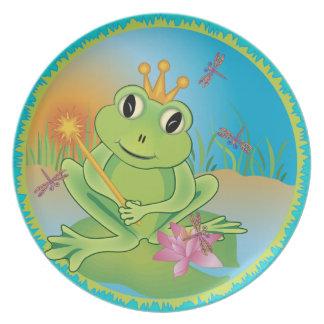 Frog Prince Plate