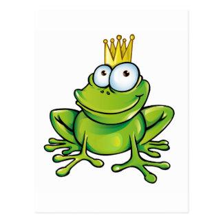 frog prince postcard