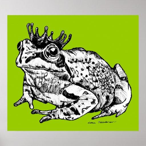 Frog Prince Poster