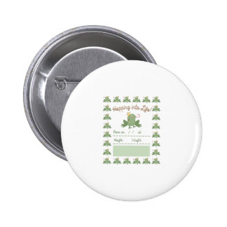 Frog Prince Pregnancy Announcement 2 Inch Round Button