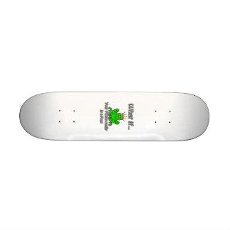 Frog Prince Skateboard Deck