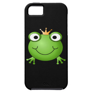Frog Prince. Smiling Frog with a Crown. iPhone 5 Covers