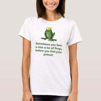 Frog Prince Tee Shirt for a single girl