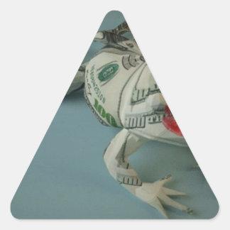 Frog Princes Triangle Sticker