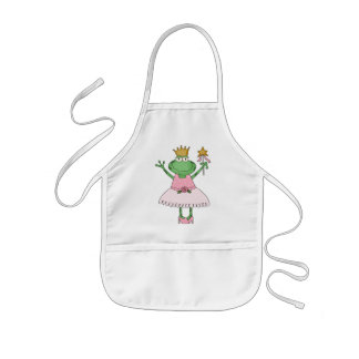 Frog Princess Apron