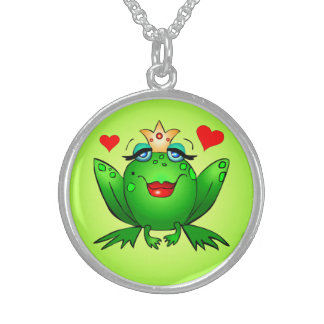 Frog Princess Cute Cartoon Frog Necklace