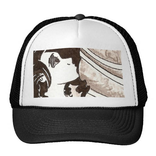 Frog Princess Ink Trucker Hat