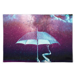Frog Rain Umbrella Animals Placemat