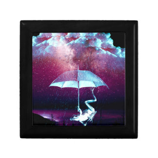 Frog Rain Umbrella Animals Small Square Gift Box