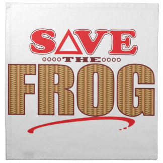Frog Save Napkin