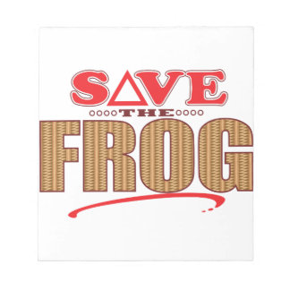 Frog Save Notepad