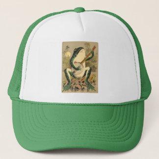 Frog Serenade Truckers Hat