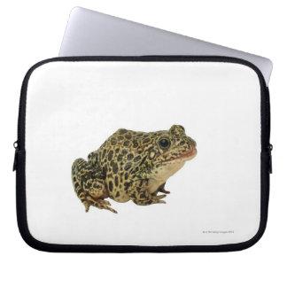 Frog shadow laptop sleeve