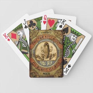 Frog Skin Deck Of Cards