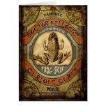 Frog Skin Greeting Card