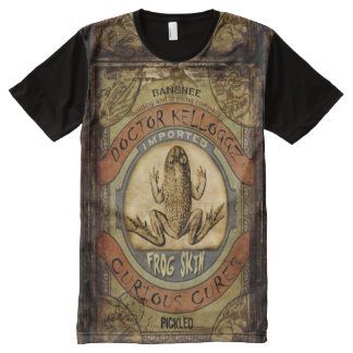 Frog Skin All-Over Print T-Shirt