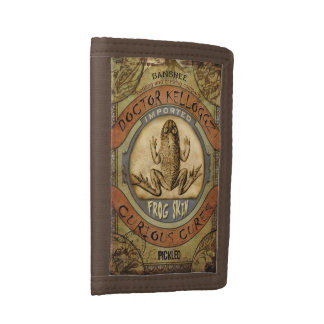 Frog Skin Tri-fold Wallet