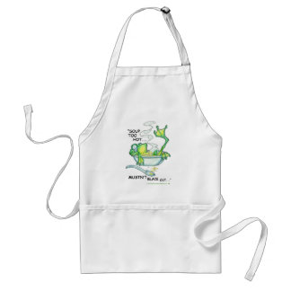 Frog Soup Standard Apron