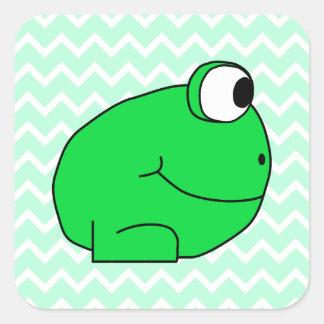 Frog. Square Sticker