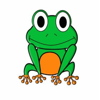 Frog Standing Photo Sculpture