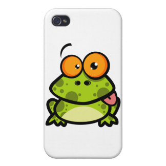 Frog Sticking Out His Tongue iPhone 4/4S Case