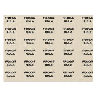 FROG TABLE CLOTH