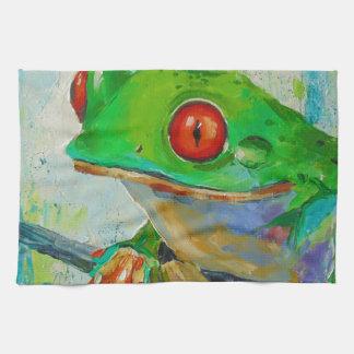 Frog Tea Towel