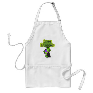 Frog Tree Hugger T-shirts and Gifts Standard Apron