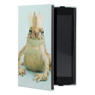 Frog wearing crown case for iPad mini