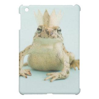 Frog wearing crown iPad mini case