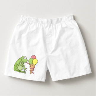 Frog with Icecream Boxers
