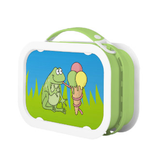 Frog with Icecream Lunch Box