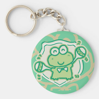 Frog with Maracas Tshirts and Gifts Keychain