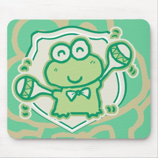 Frog with Maracas Tshirts and Gifts Mouse Pad