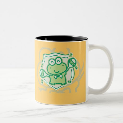 Frog with Maracas Tshirts and Gifts Mug