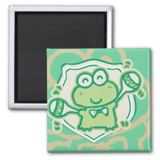 Frog with Maracas Tshirts and Gifts Square Magnet