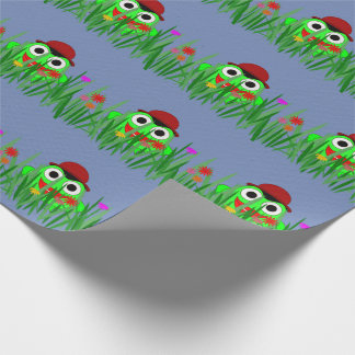Frog Wrapping Paper